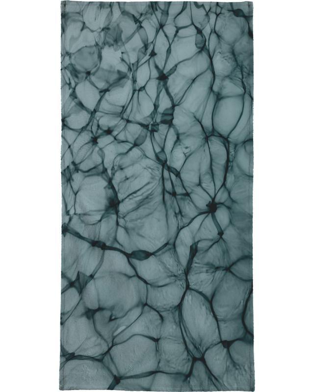 Abstract Life serviette de bain