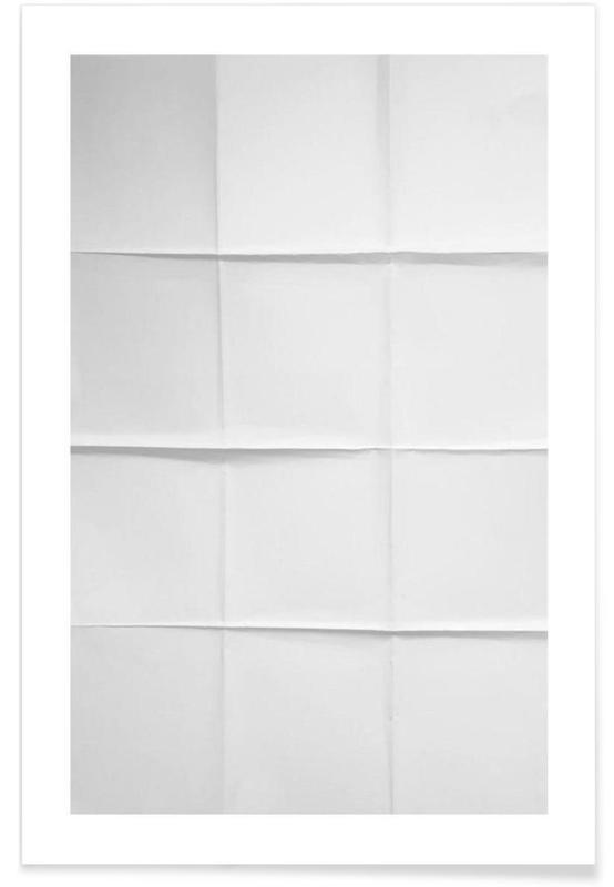 Paper Grid poster