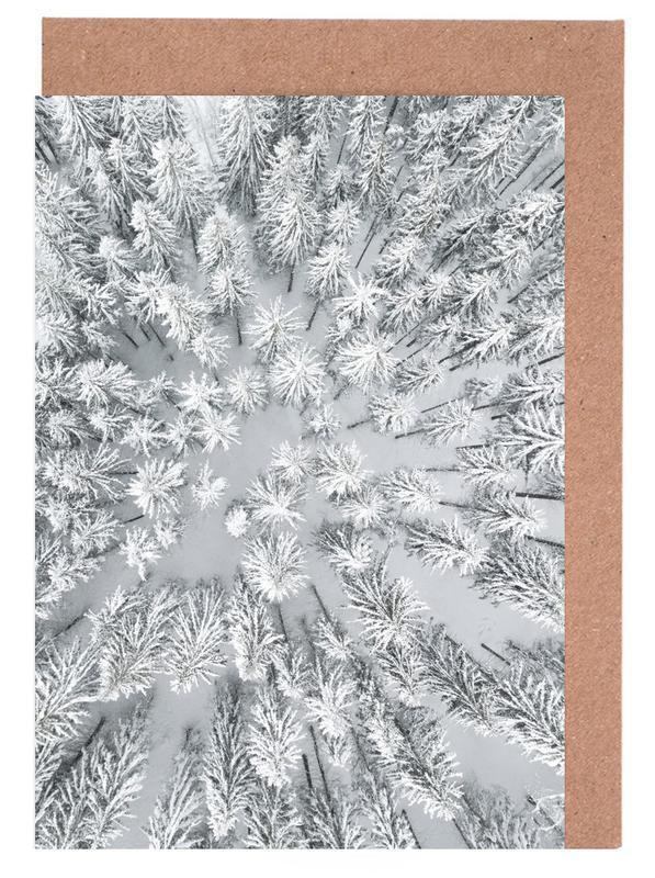 Snowy Forests cartes de vœux