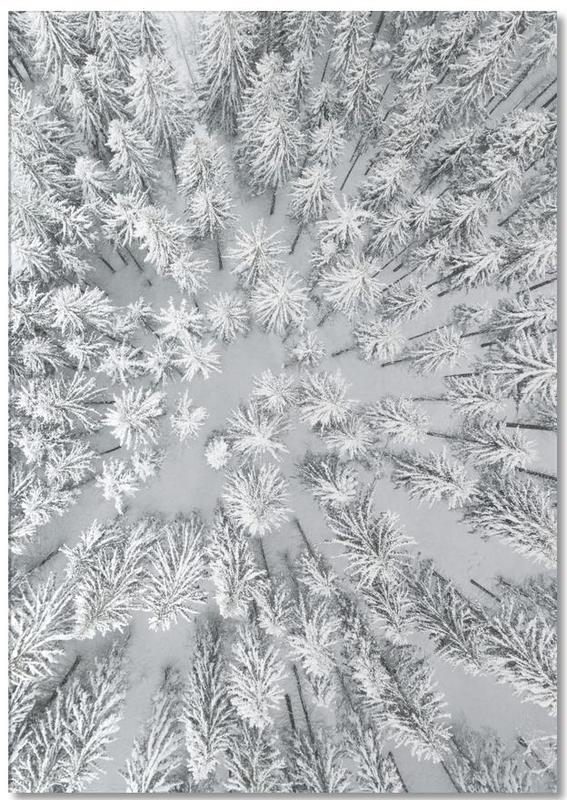 Snowy Forests bloc-notes