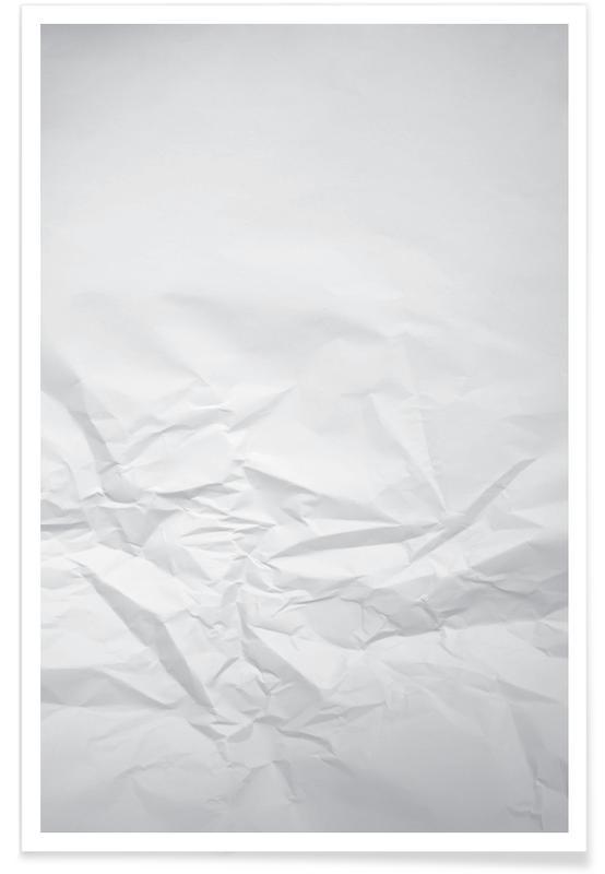 Schwarz & Weiß, Paper Landscape -Poster