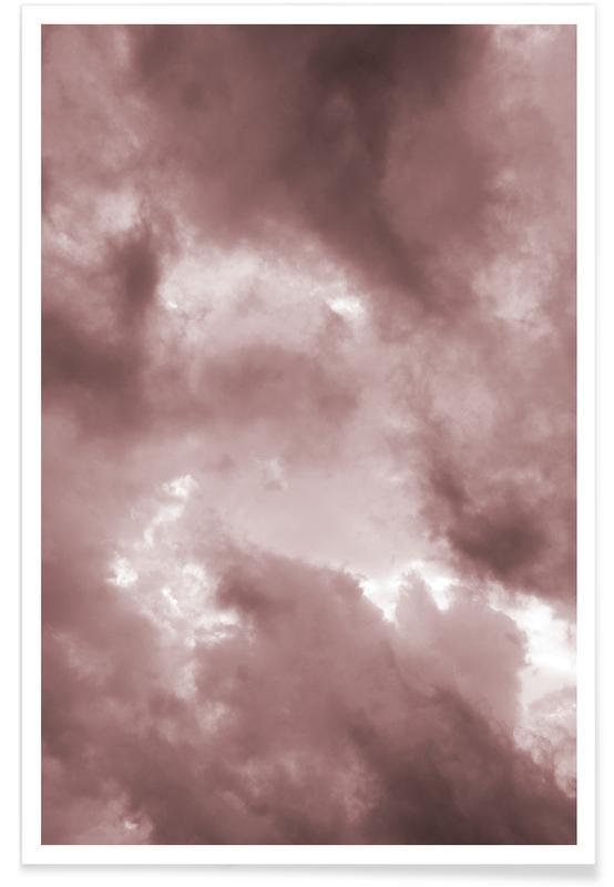 Lucht en wolken, Blush Clouds poster