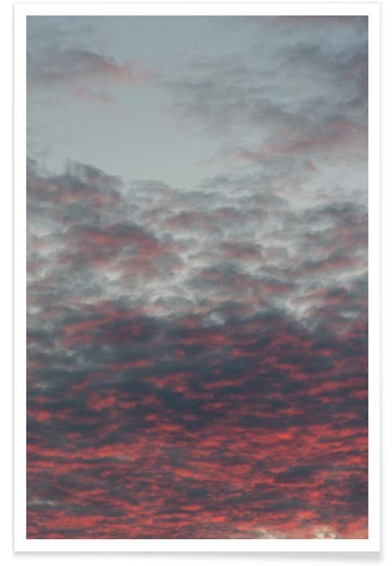 Lucht en wolken, Cotton Candy Sky poster
