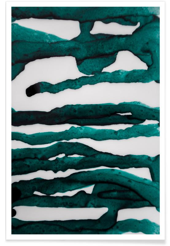 , Abstract Forest 3 of 3 Poster