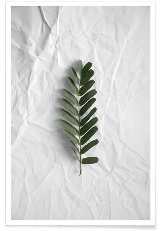 Feuilles & Plantes, Minimal Forest Love affiche