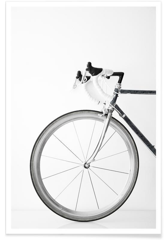 Reise, Fahrräder, Ride My Bike Black&white Edition -Poster