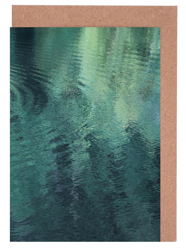 Forest In The Lake Greeting Card Set