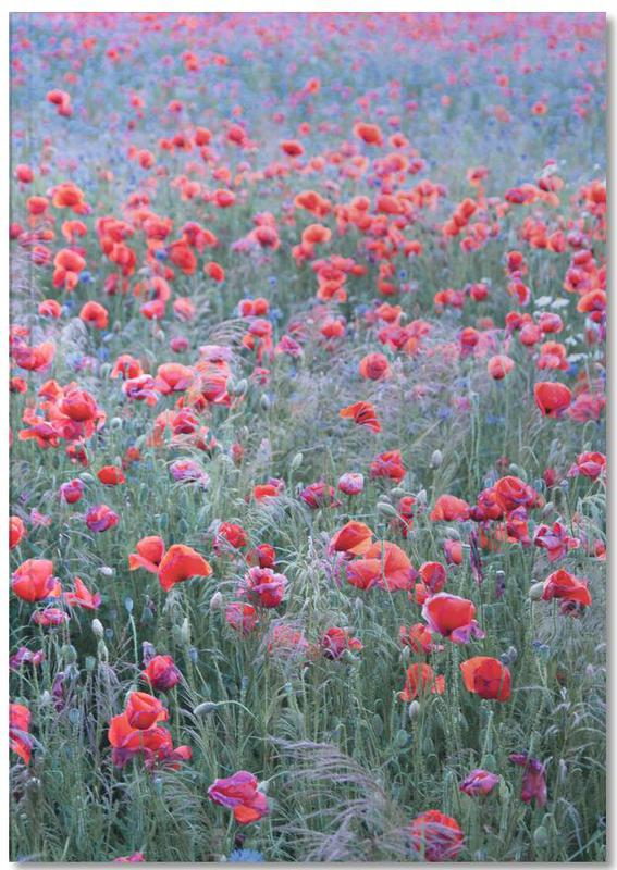 Coquelicots, Poppy Seed Heaven Notebook