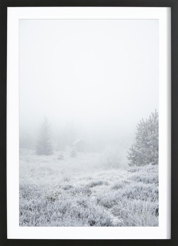 The House In The Forest Framed Print