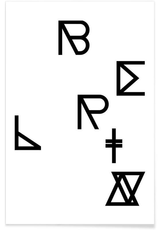 Symbolen, Berlin poster