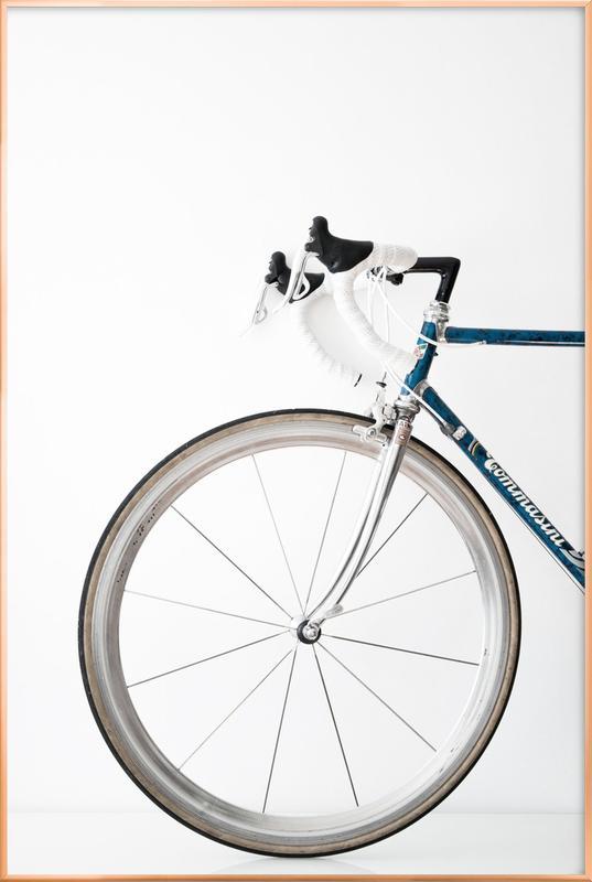 Ride my Bike poster in aluminium lijst