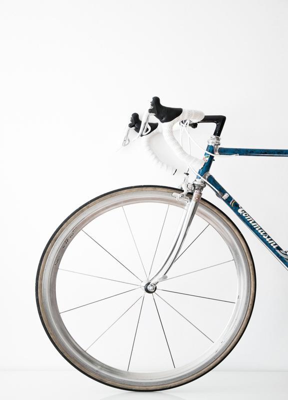 Ride my Bike canvas doek