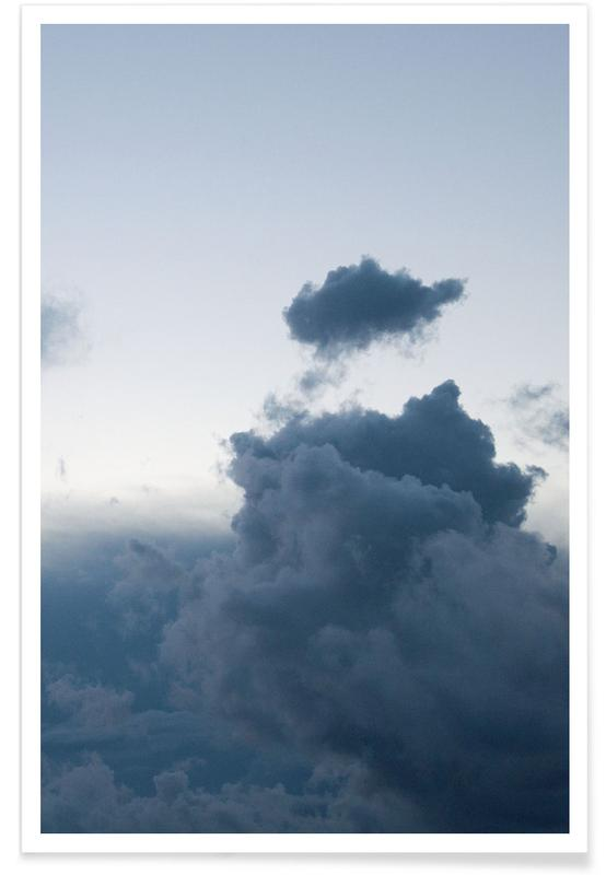 Skies & Clouds, Above 1/2 Poster