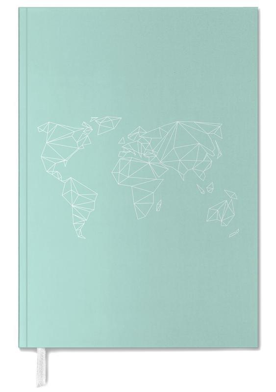 Geometrical World Green -Terminplaner