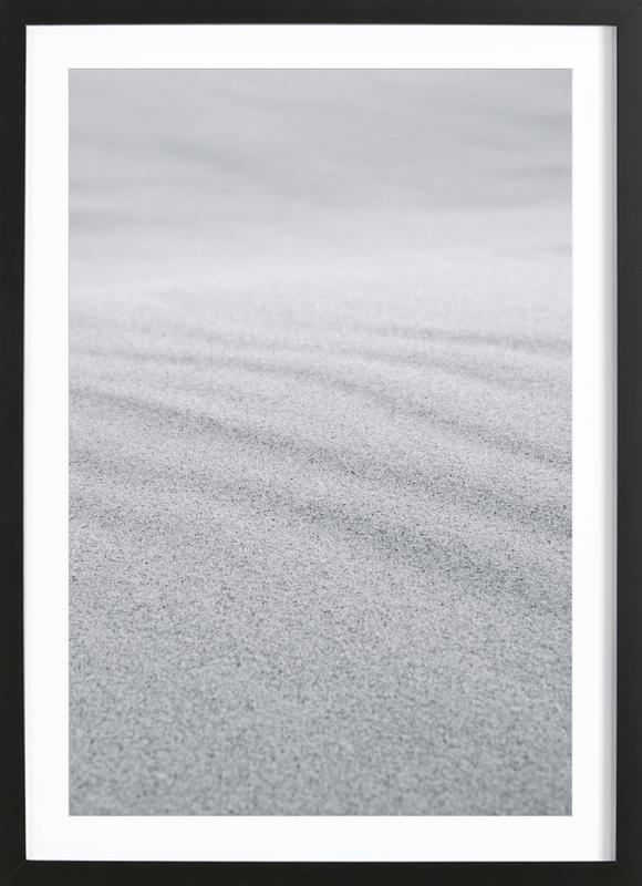 Waves of Sand Framed Print