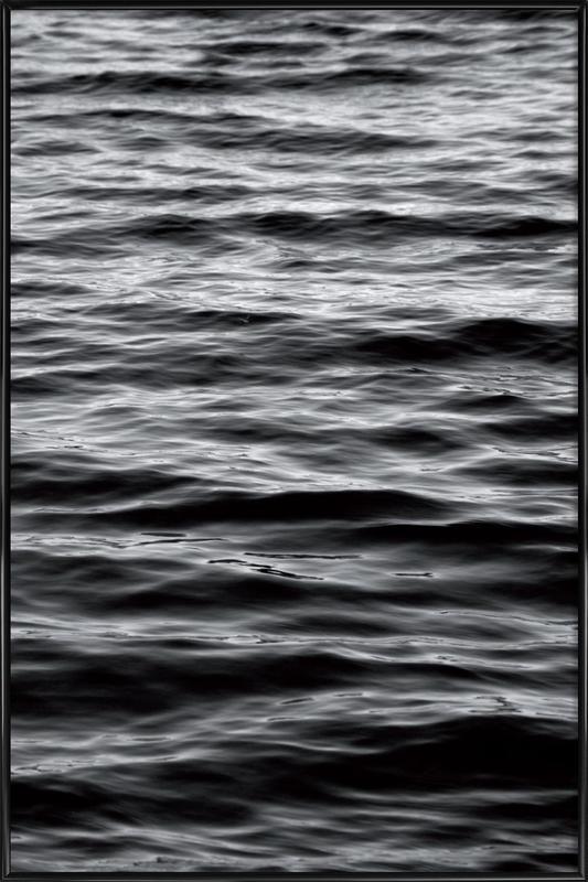 Black Ocean affiche encadrée