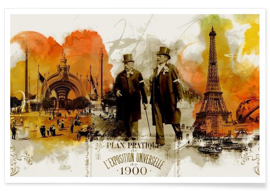 Paris, Belle Epoque 3 -Poster