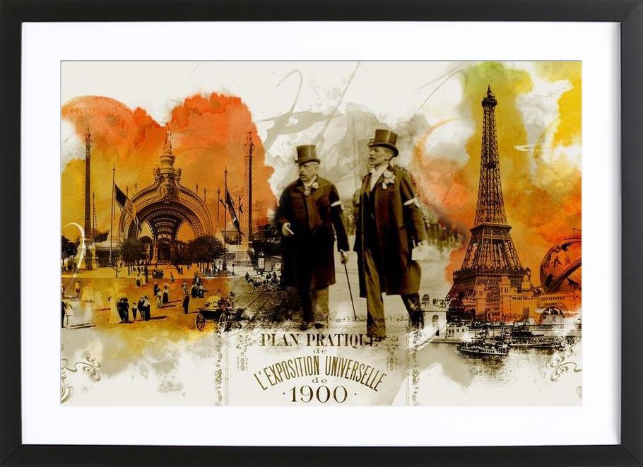 Belle Epoque 3 Framed Print