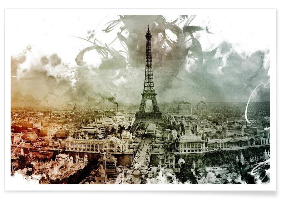 Paris, Belle Epoque 4 affiche