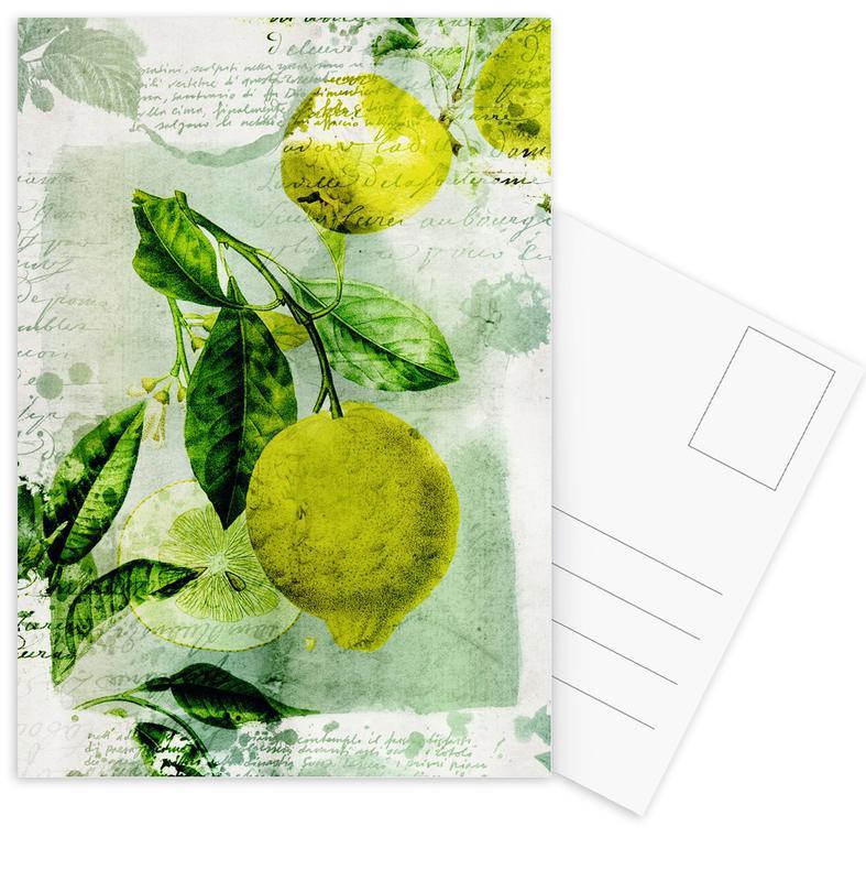 Citroenen, Botanic 1 ansichtkaartenset