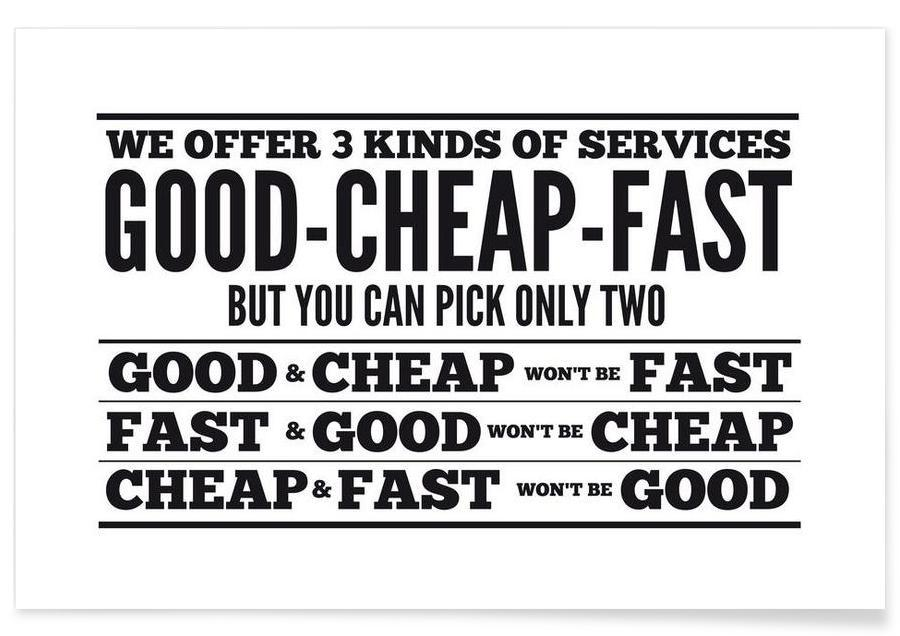 Good Cheap Fast affiche