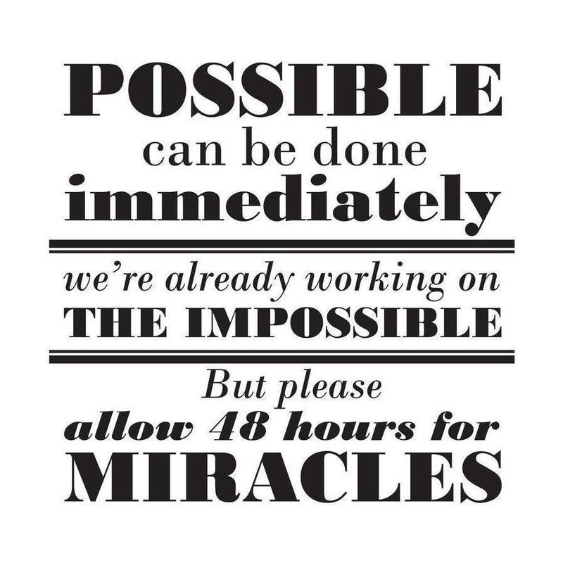Possible Impossible Miracles Canvas Print