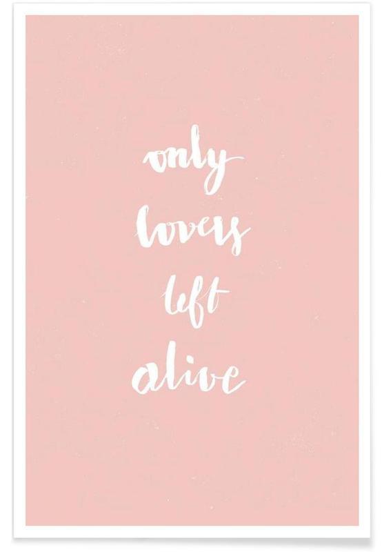 Only Lovers Left Alive Rose affiche