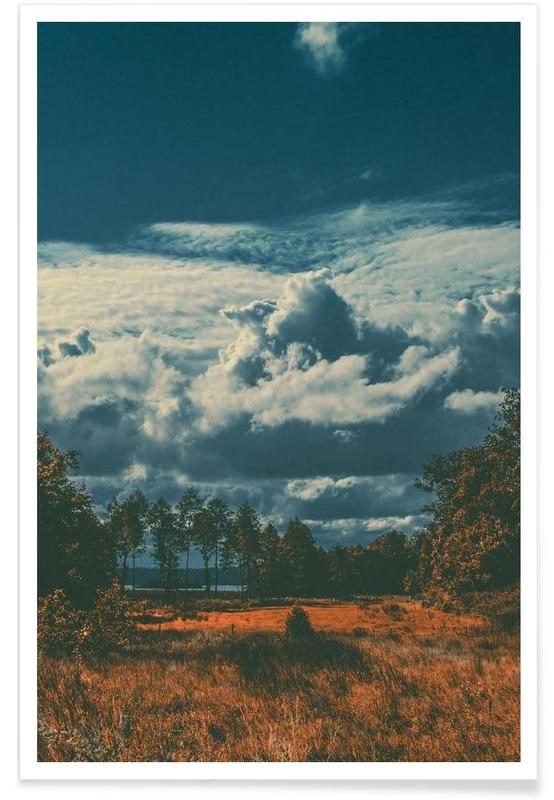 Skies & Clouds, The Flat Land Poster