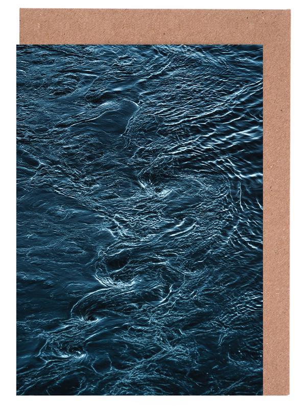 Ozeane, Meere & Seen, The Waves In Between -Grußkarten-Set