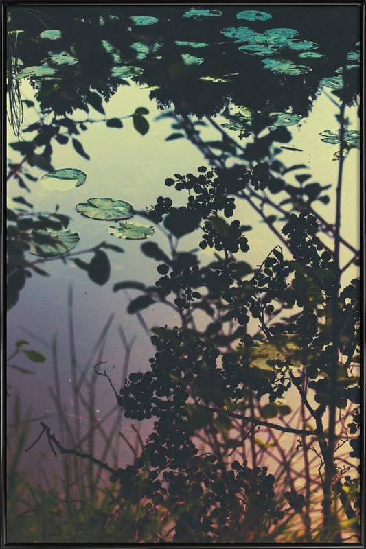The Afternoon Lake ingelijste poster