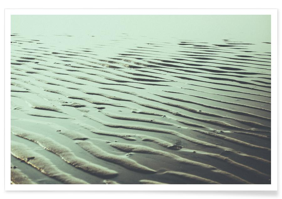 Ozeane, Meere & Seen, The Sand Waves -Poster
