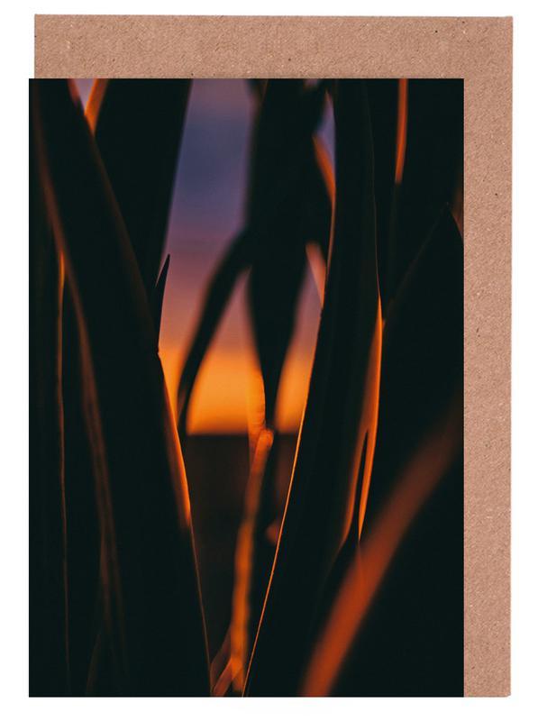 Blätter & Pflanzen, Sonnenuntergänge, The Bend -Grußkarten-Set