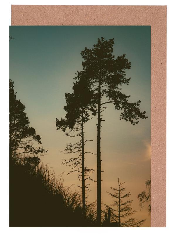 Wälder, Bäume, The Forest II -Grußkarten-Set