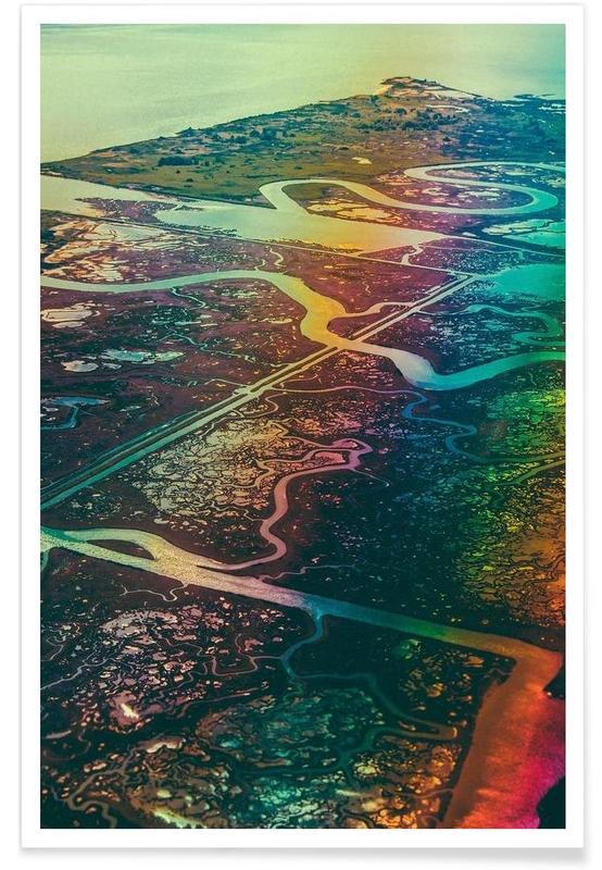 Abstrakte Landschaften, The Veins -Poster