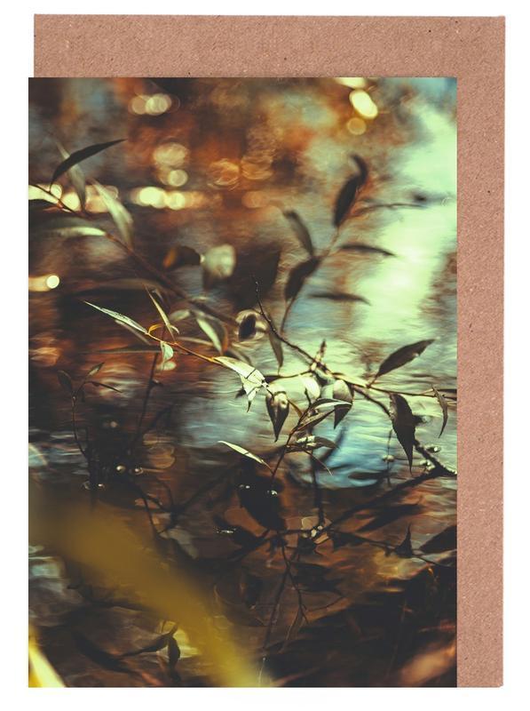 Blätter & Pflanzen, Chroma IV -Grußkarten-Set
