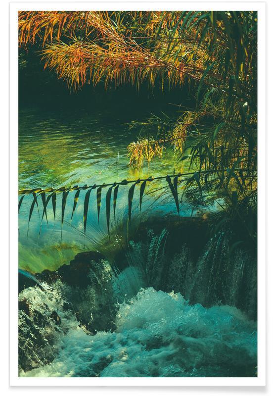 Ozeane, Meere & Seen, The Oasis -Poster