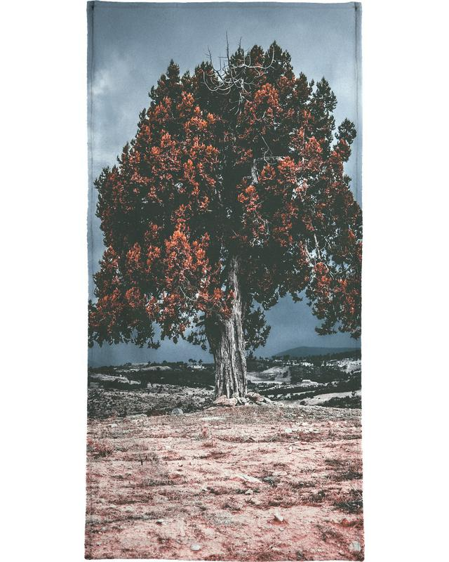 The Red Giant Tree -Handtuch