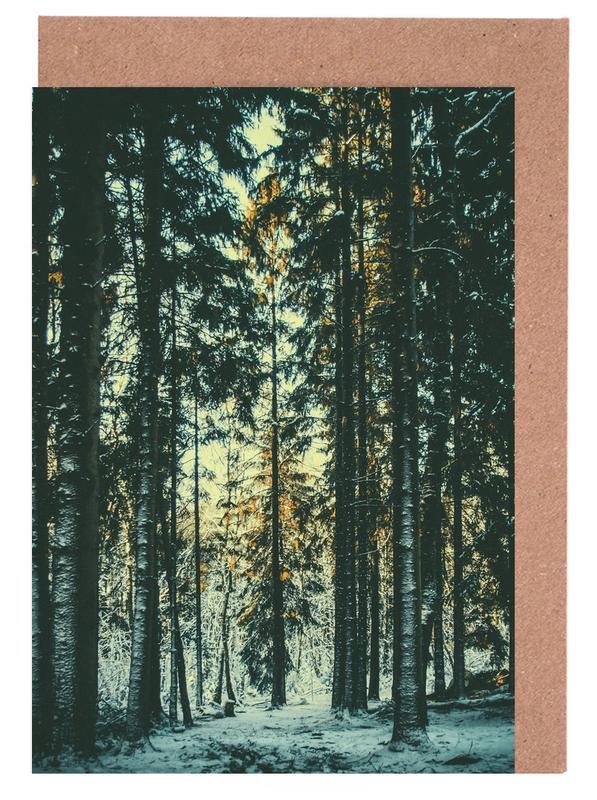 Wälder, The Pin -Grußkarten-Set