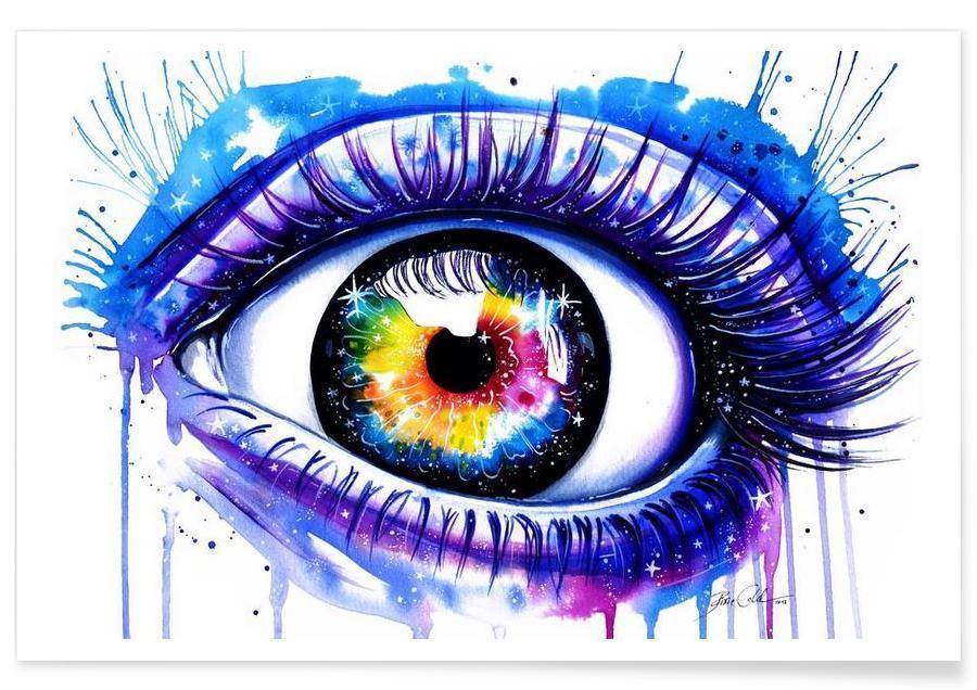 Galaxy Eye -Poster