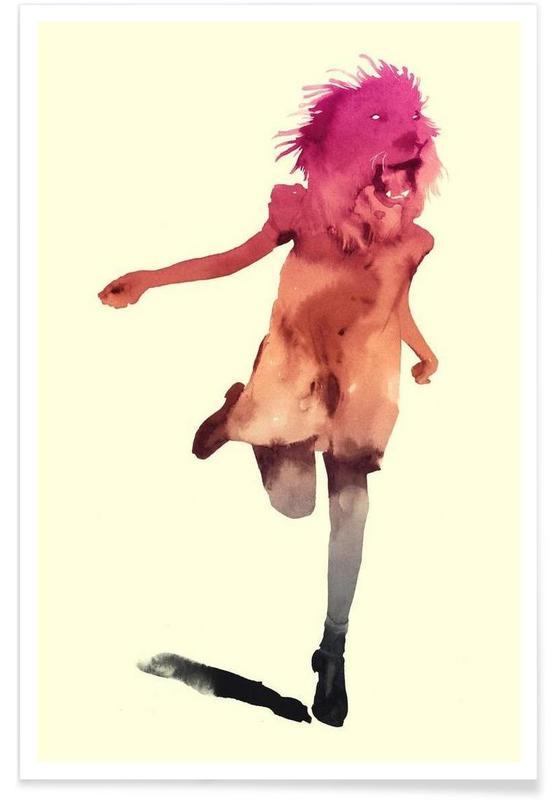 Fantasie- & Mischwesen, As Tall As Lions -Poster