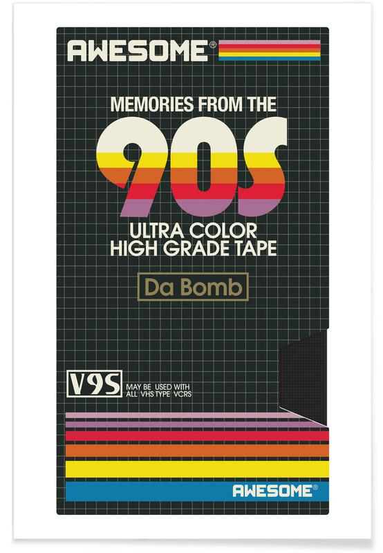 , 90S affiche