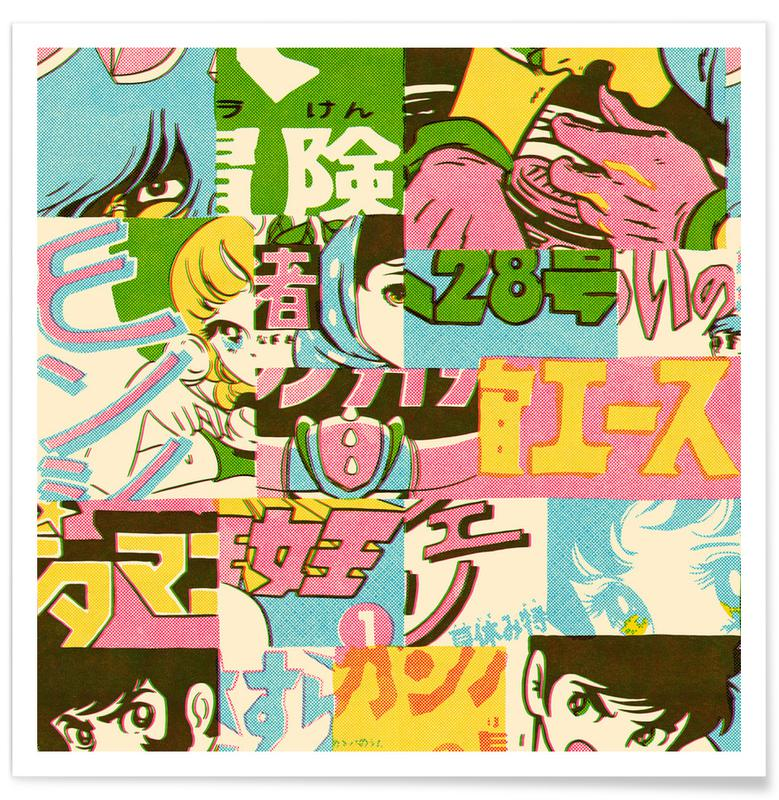 TV Shows, Jump Pattern Poster