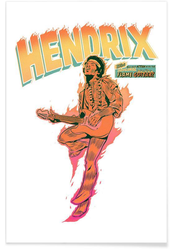 Jimi Hendrix, Hendrix -Poster