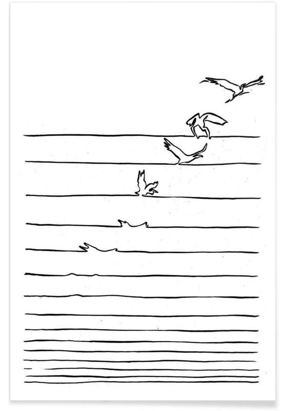 Noir & blanc, Break Free affiche