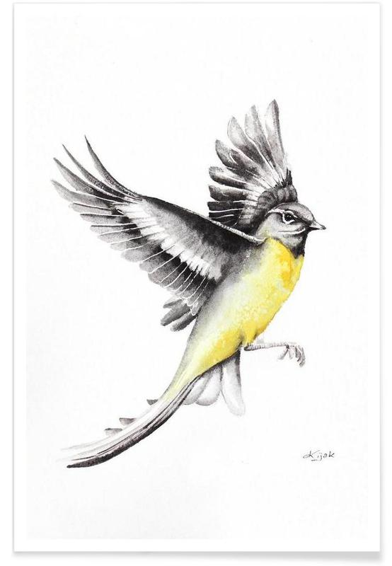, Wagtail -Poster