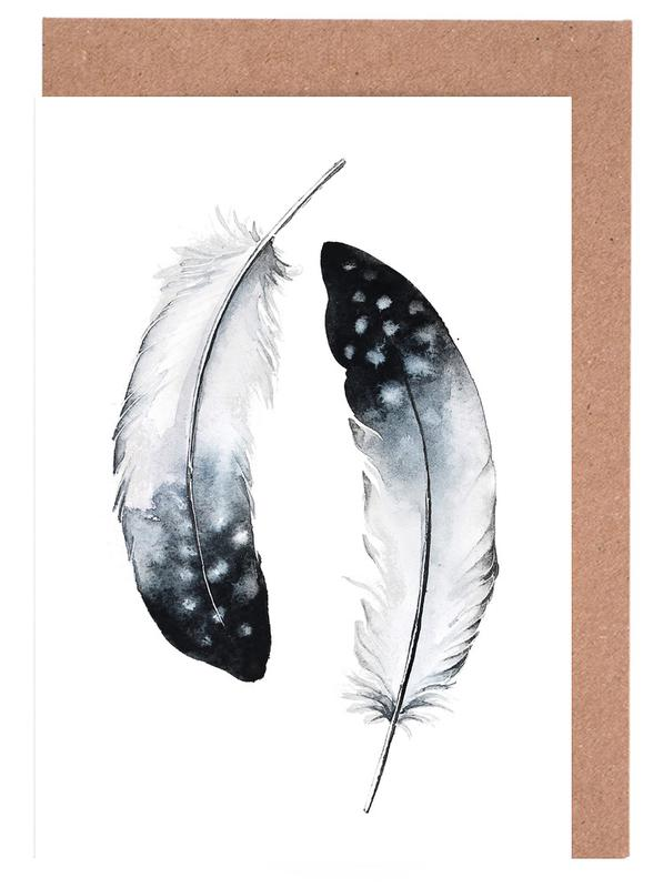 Feathers I Greeting Card Set