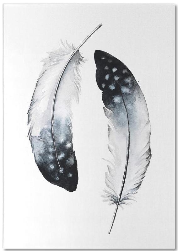 Federn, Feathers I -Notizblock
