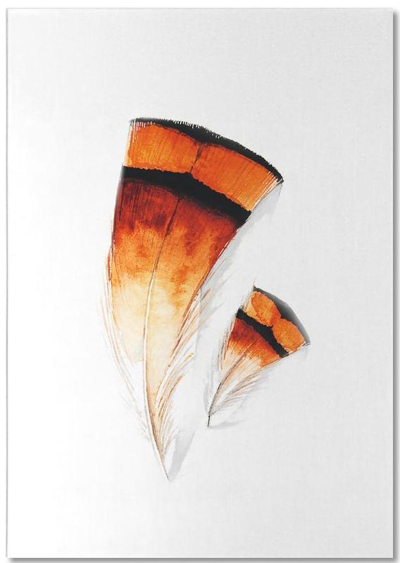 Federn, Feathers II -Notizblock