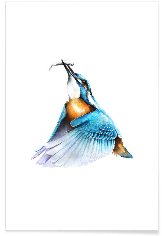 , Kingfisher -Poster