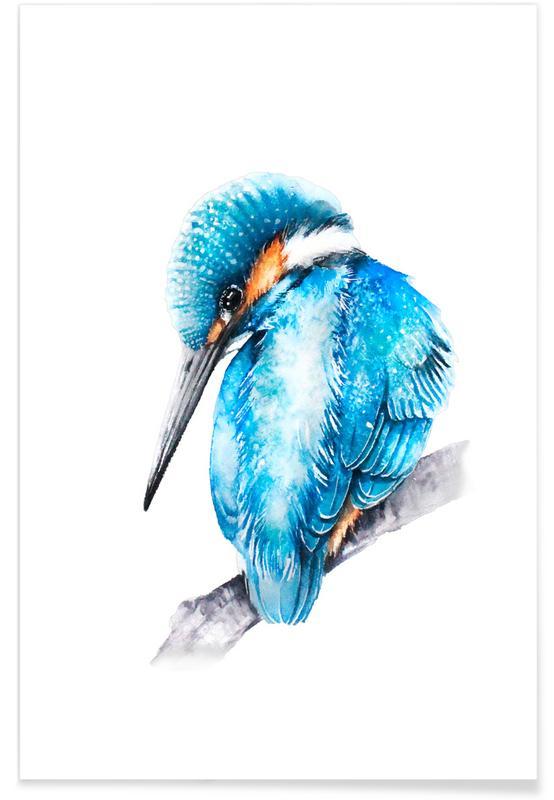 , Kingfisher II poster